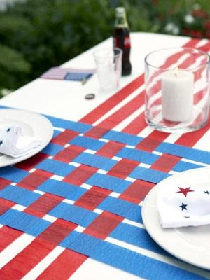 fourth of july paper decorations