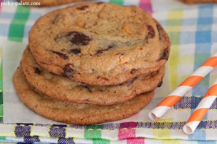 One Bowl Butterscotch Chocolate Chunk Cookies 3