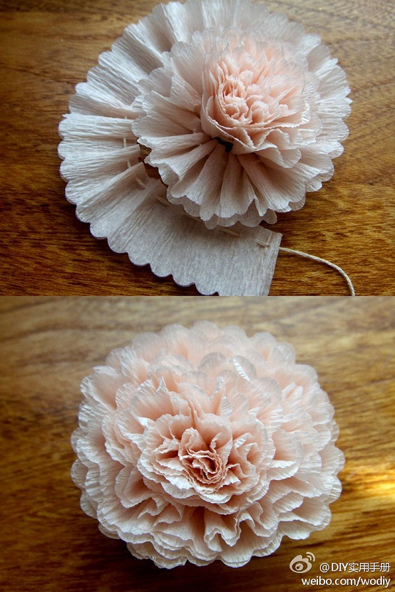 Simple paper flower craft ideas pinterest for Simple paper flower craft