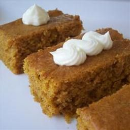 Paul's Pumpkin Bars on BigOven: Recipe from Allrecipes. These are very ...