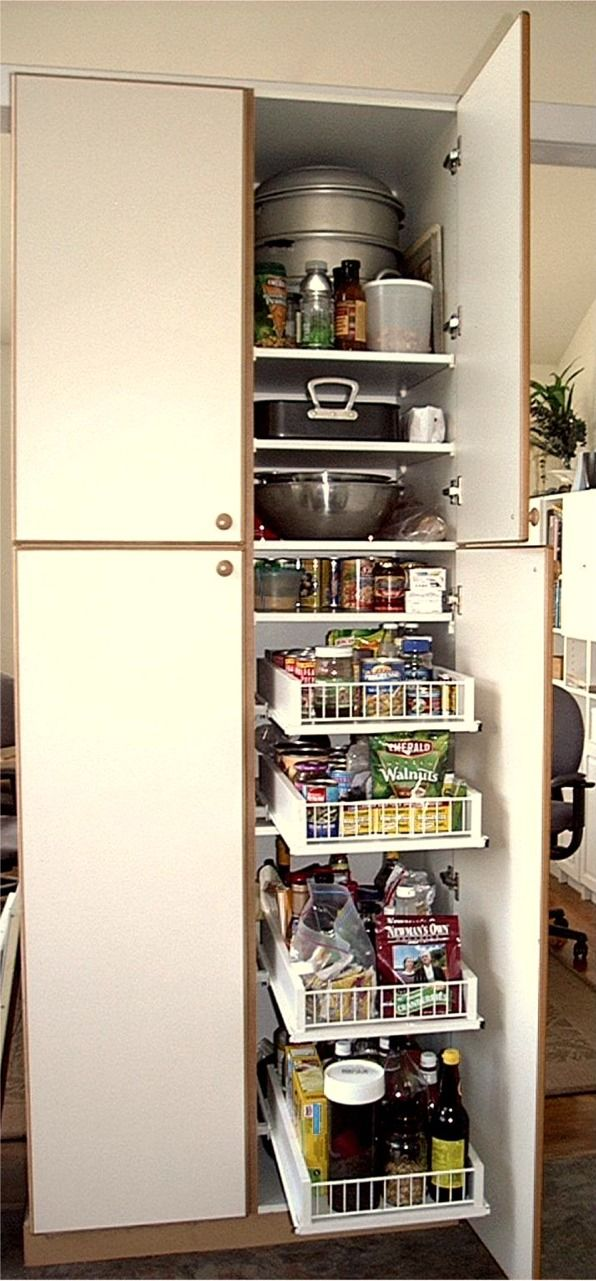 pull outs kitchen pinterest