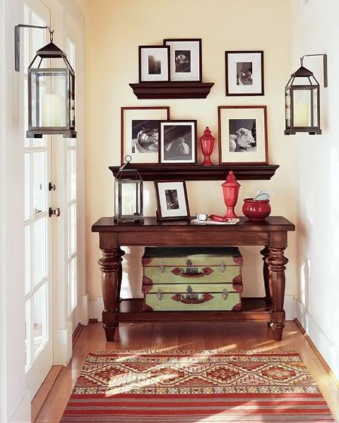 Upstairs Foyer Ideas : Hallway decor ideas upstairs finding a spot pinterest