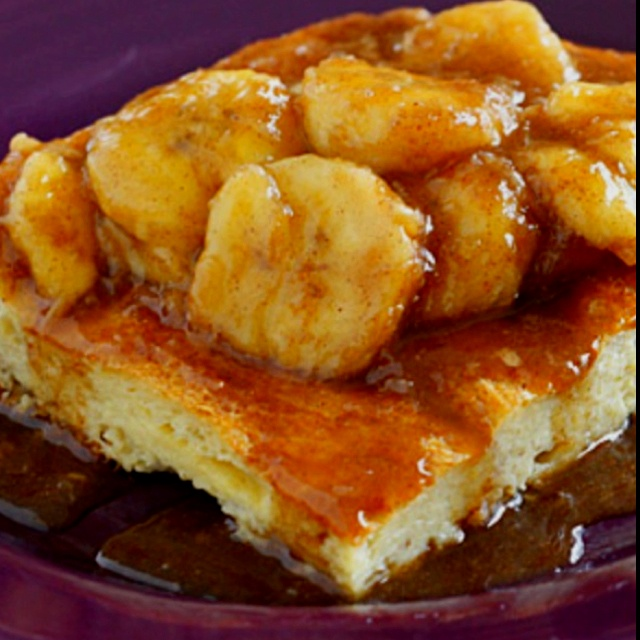 french toast!http://www.skinnytaste.com/2011/04/bananas-fosters-topped ...