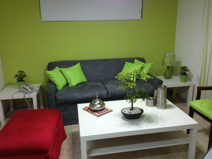 Decoracion con verde manzana hogar decoraci n y for Decoracion hogar verde