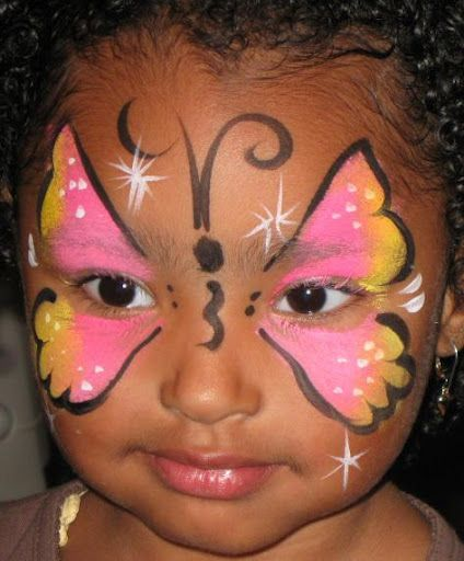 Fj ril ansiktsm lning pinterest - Maquillage simple enfant ...