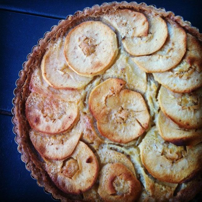 "The Sunny Side Up: ""I made this brown butter apple tart which looks a ..."