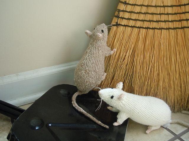 Knitting Pattern For Rat Sweater : Rats! pattern by Sara Elizabeth Kellner