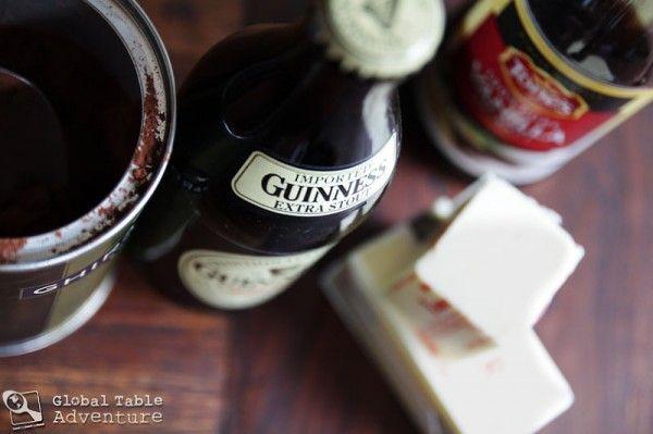 ... ! Recipe: Dark Chocolate Guinness Cake with Bailey's Buttercream