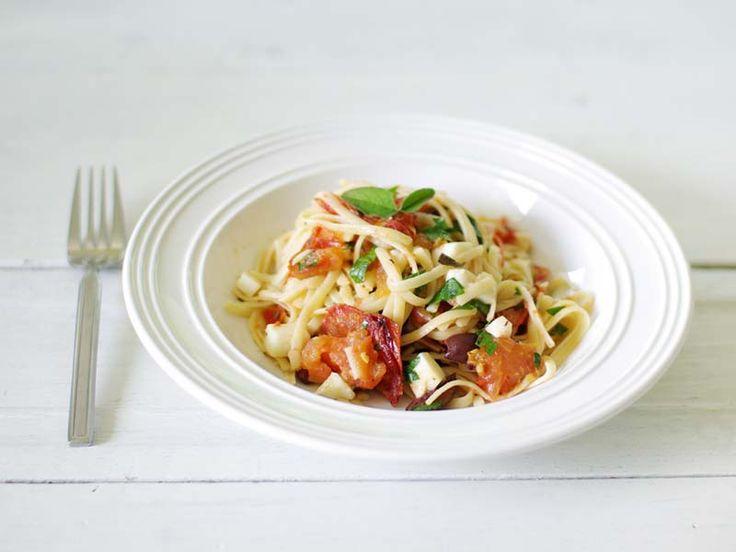 Pasta with Roasted Tomato Sauce | Pasta! | Pinterest