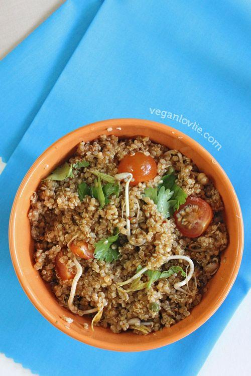 Quinoa Salad with Miso Orange Dressing | Food (Made Vegan!) | Pintere ...