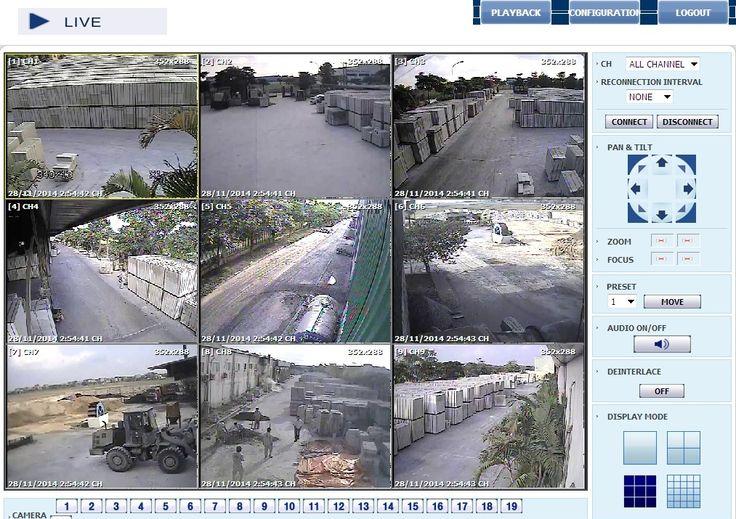 Lắp đặt camera Nhà máy bê tông khí Viglacera