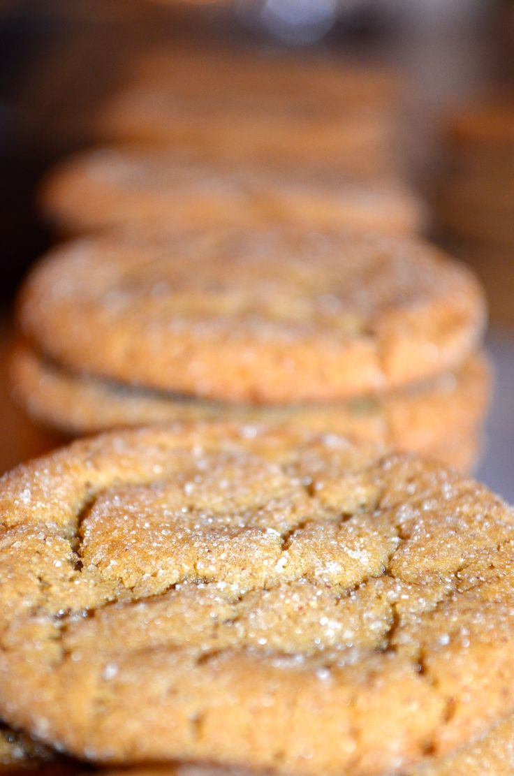 Spicy and Soft Molasses Cookies - In memory of my mom! :) shell