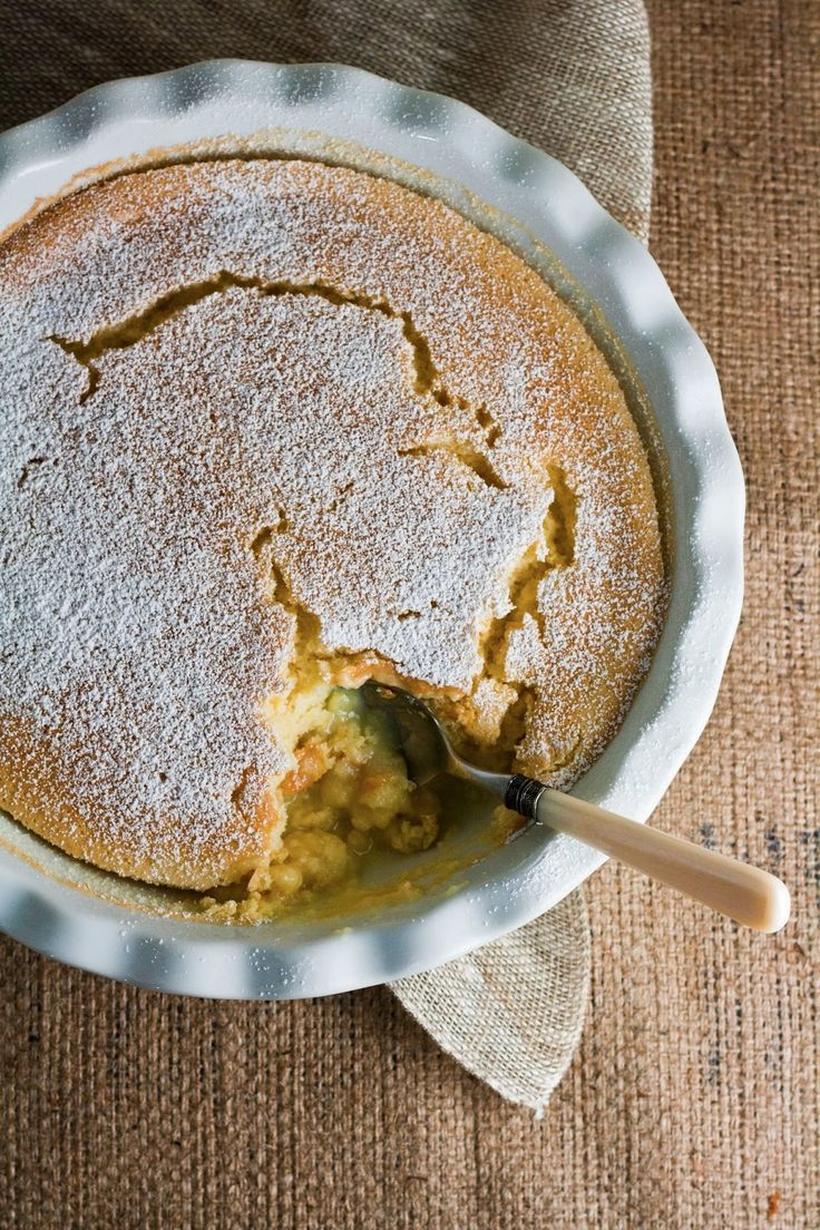 Meyer Lemon Pudding Cake | eat | sweet | Pinterest
