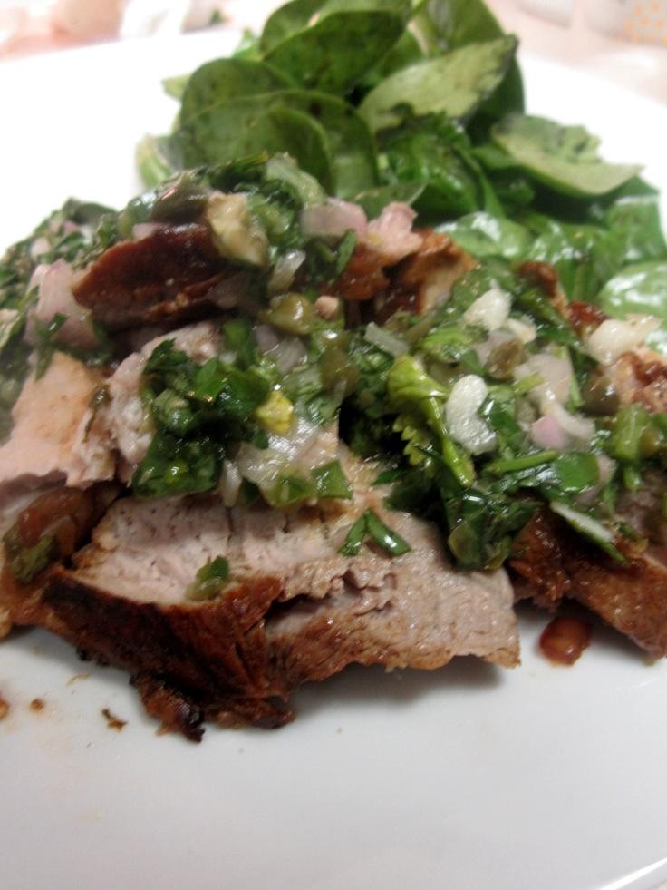 ... salsa verde roasted salsa verde grilled pork tenderloin with salsa