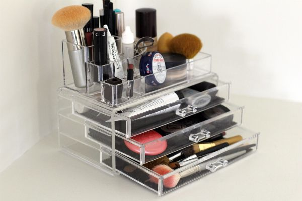 Cosmetic Storage Solution For The Home Pinterest