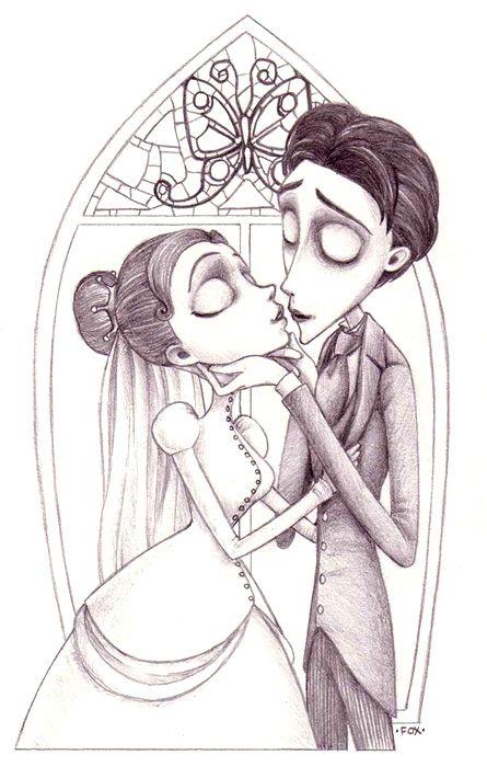 Jack skellington colouring pages page 2 - Corpse Bride Idea Sofie Pinterest