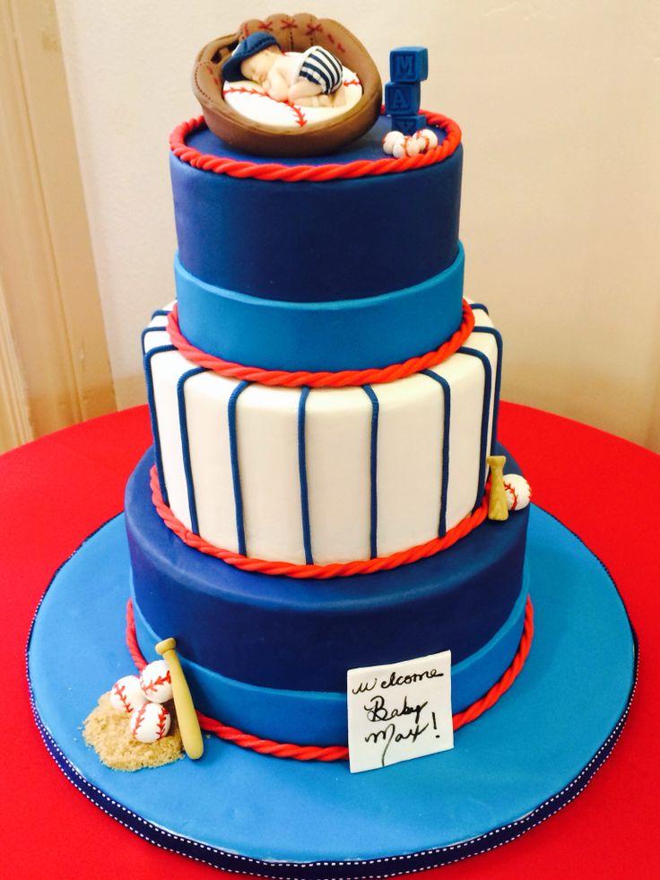 baseball baby shower cake the bridge to creativity pinterest
