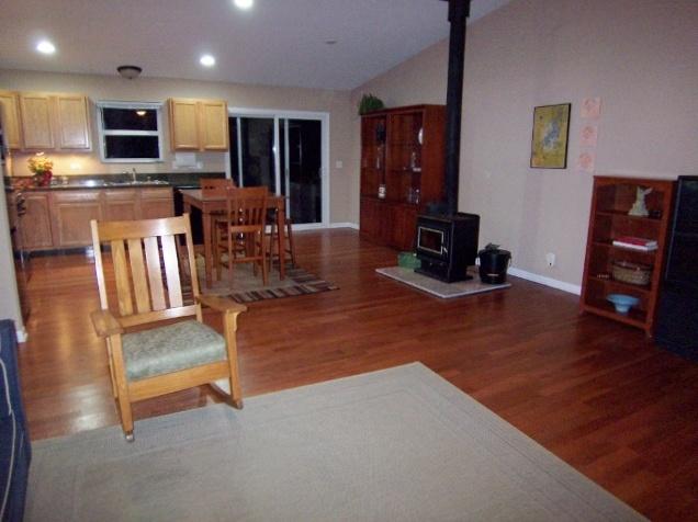 Living room wood burning stove s v s pinterest - Living room with wood burning stove ...