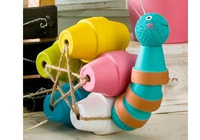 Okay,  this is just too cute! Clay Pot Snail