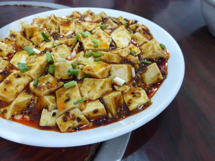 mapo doufu | Chinese Dishes | Pinterest