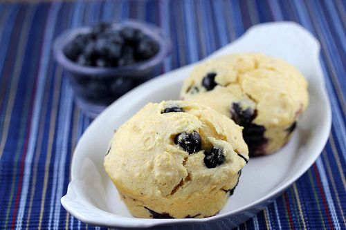 Blueberry Corn Muffins | Sweet Thangs | Pinterest