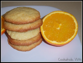 Orange-Honey Drop Cookies | Recipe
