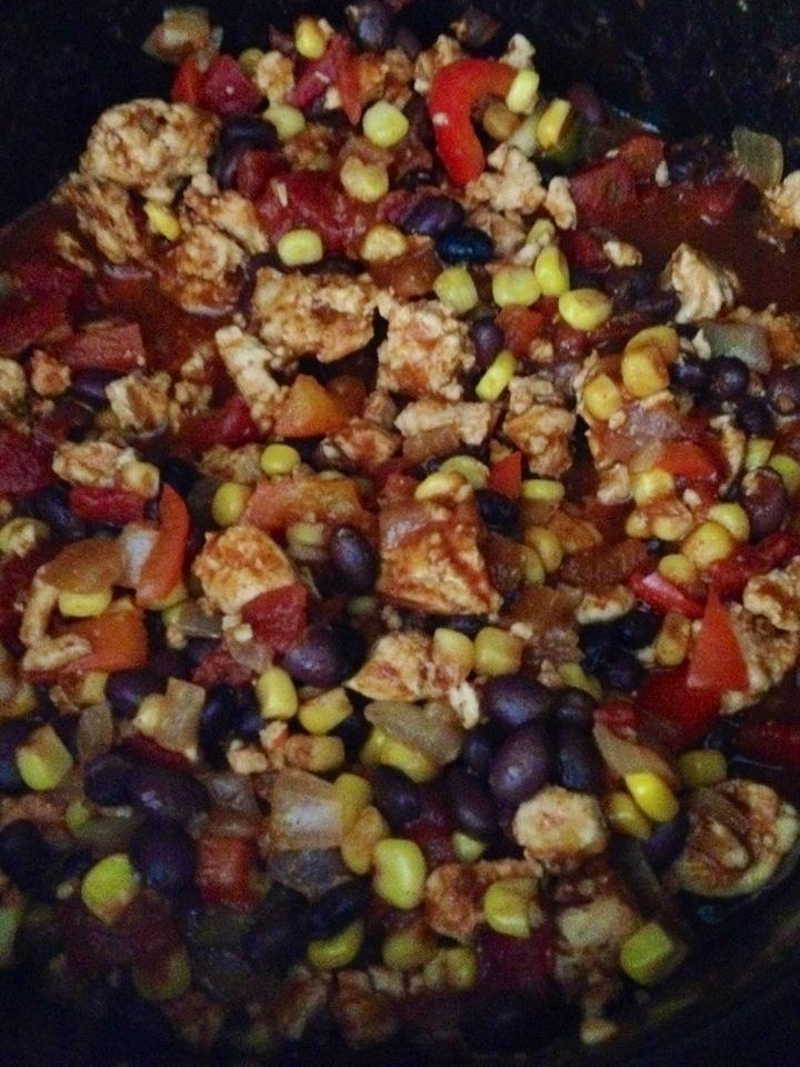Delicious TURKEY CHILI by Crock-a-doodle-do - Healthy and full of lots ...