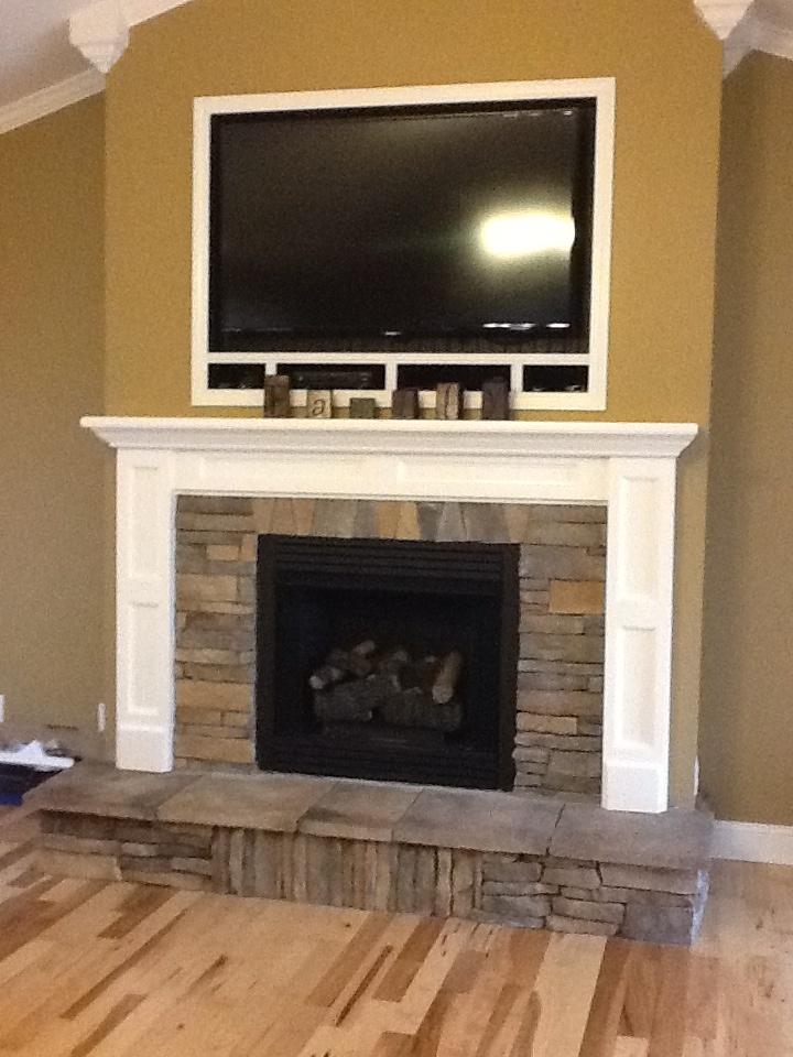 Rock Fireplace Fireplace Mantle Redo Ideas Pinterest