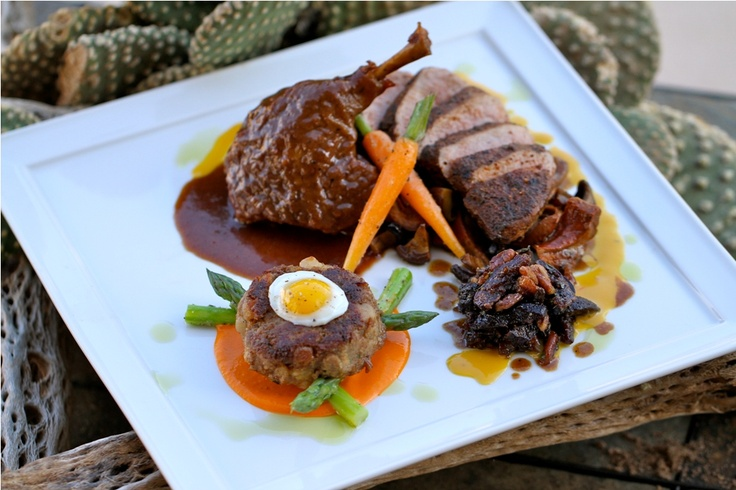 ……. Southwestern Spiced, Roasted Duck Breast with Wild Mushrooms ...