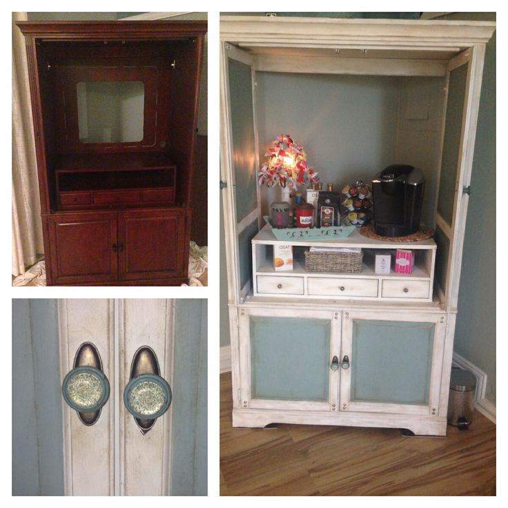 Old Tv Cabinet Into Bar Refurbished Tv Armoire To Wine Mini Bar