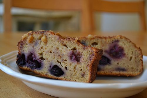 Whole Wheat Blueberry Bread | getting healthy | Pinterest
