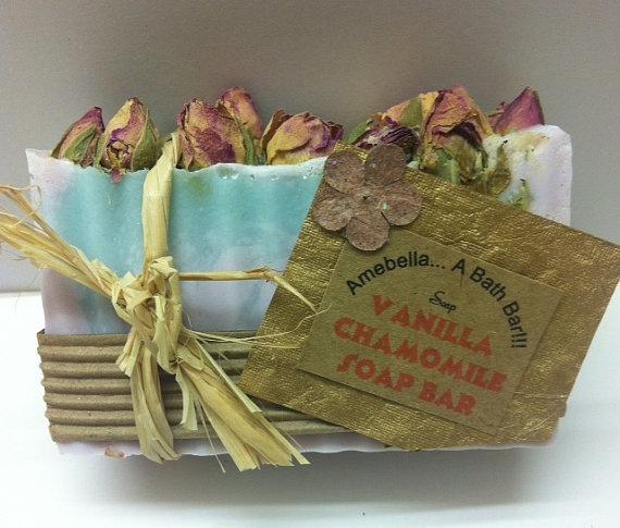 Vanilla chamomile soap soap Natural Soap shea by AmebellaABathBar, $5 ...