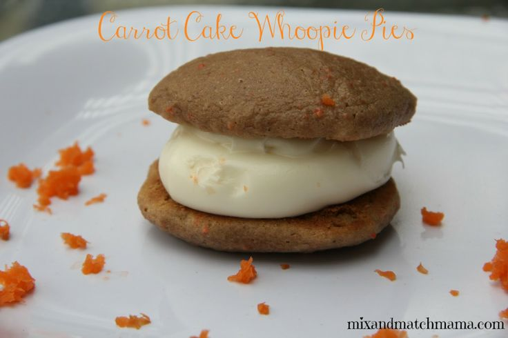Carrot Cake Whoopie Pies Recipe — Dishmaps