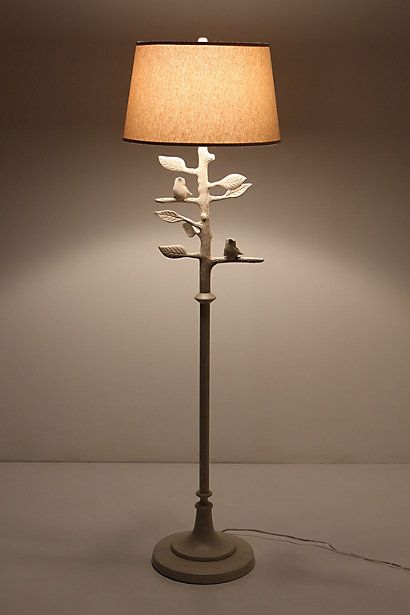 Sibley floor lamp for White floor lamp with birds