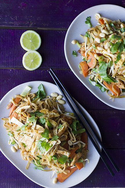 Pad Thai with Egg Omelette | New Zealand Classic Recipes | Pinterest