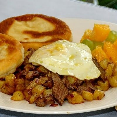 German Farmer's Breakfast I love this site http://www.healthyrecipes ...