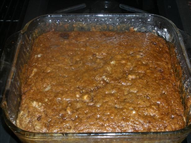 Applesauce Cake - quick, easy snack cake, and no messy bowls to clean ...