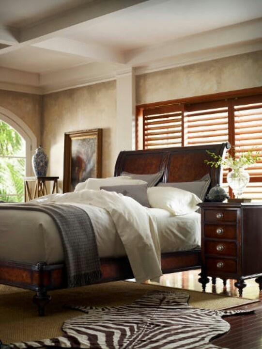 Colonial style bedroom | Interiors | Pinterest