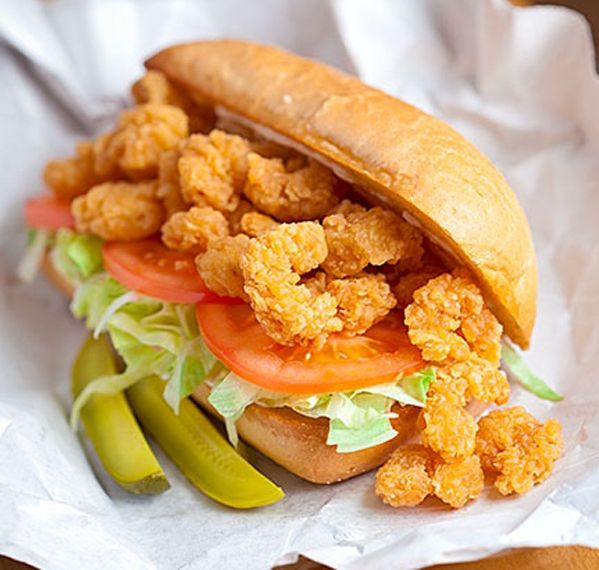 Shrimp Po Boy recipe | CopyCat Recipes | Pinterest