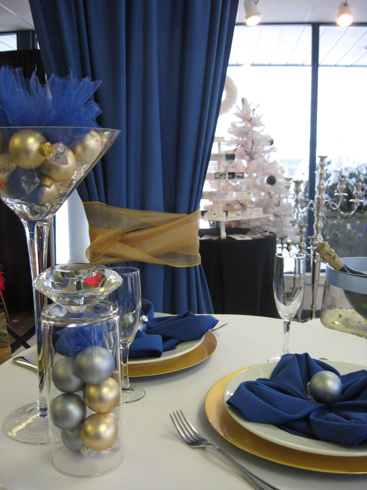 New years table decor | new years