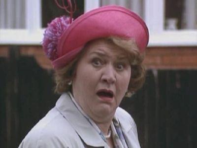 Hyacinth Bucket...BOO KAY!! The Bucket lady..love Keeping Up Appearances!!!