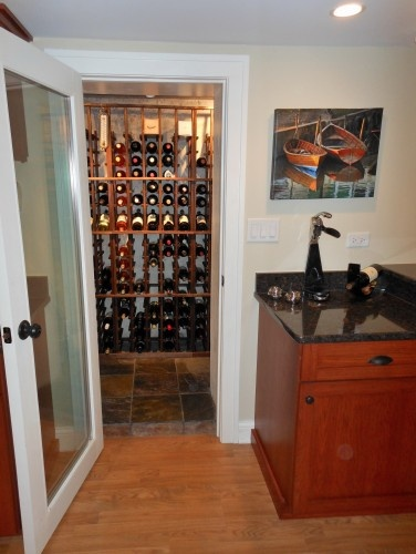 Turn closet into wine cellar decorating ideas pinterest Turn closet into wine cellar
