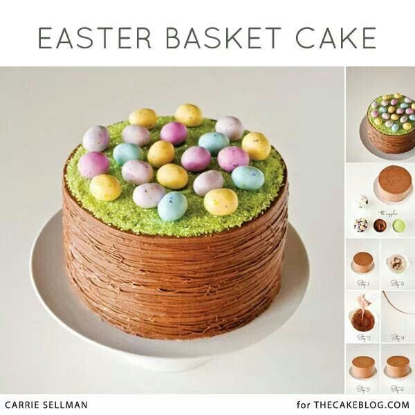 Easter Cake Decorations Pinterest : Easter cake Cake decorations Pinterest