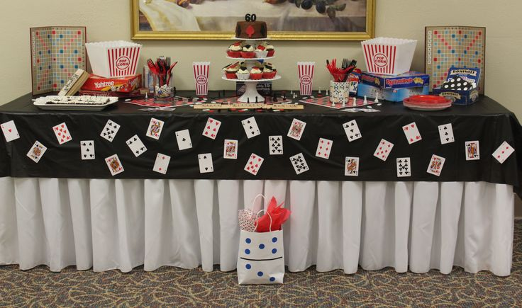 Game night birthday party board game party ideas pinterest Game decoration