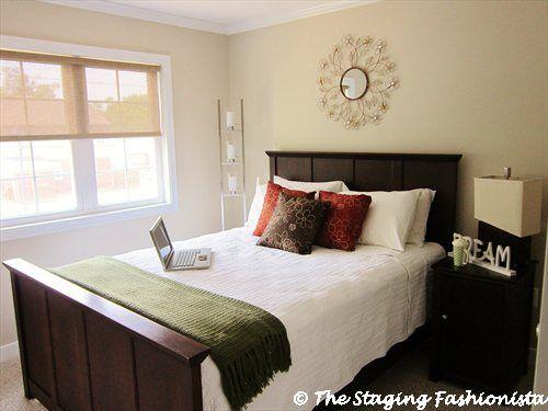 Master Bedroom Home Staging Ideas Pinterest