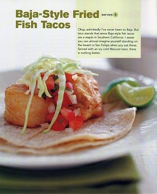 Baja-Style Fried Fish Tacos   Baking and Cooking   Pinterest