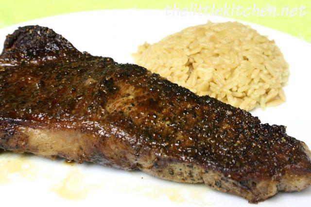 Pan-Seared Steaks | the little kitchen | My recipes | Pinterest