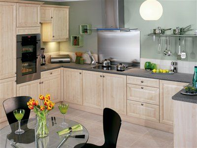 sage green walls kitchen from wickes kitchen decorating ideas p. Black Bedroom Furniture Sets. Home Design Ideas