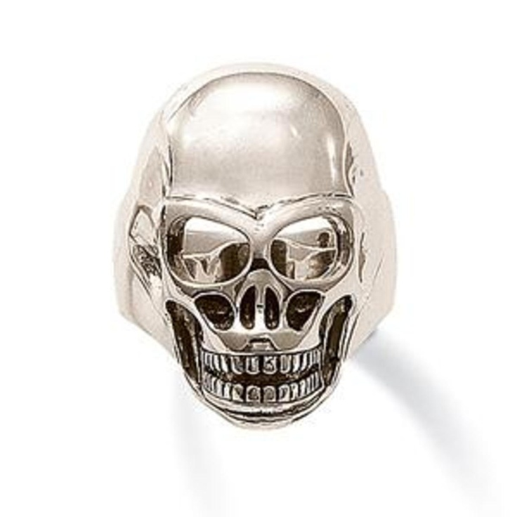 skull ring by thomas sabo men 39 s jewelry pinterest. Black Bedroom Furniture Sets. Home Design Ideas