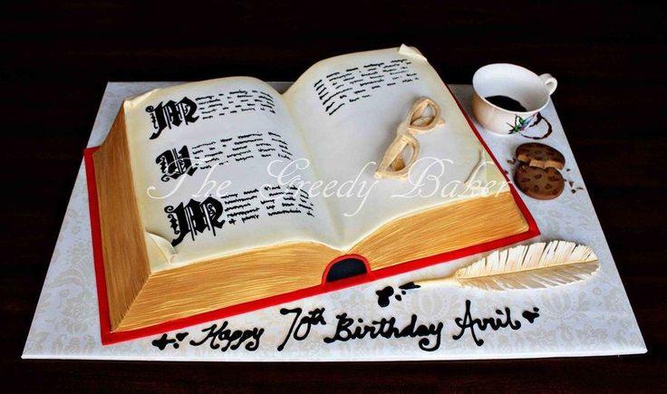 How To Make A Book Cake Tutorial